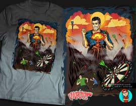 #15 for Volcano Illustration for Dart Shirt by GribertJvargas