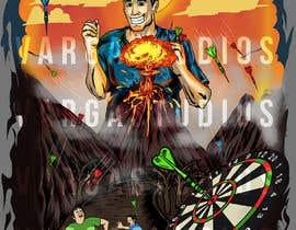 #16 for Volcano Illustration for Dart Shirt by GribertJvargas