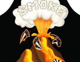 #14 для Volcano Illustration for Dart Shirt от rajuhomepc