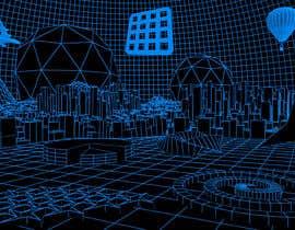 #9 for Sketch of 3d grid landscape with field of data af mrsi