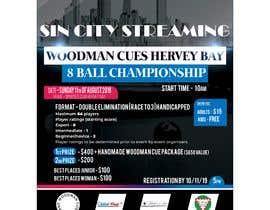 Nro 5 kilpailuun Event sports flyer   - 13/06/2019 06:32 EDT käyttäjältä Reffas