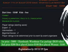 #22 for Event sports flyer   - 13/06/2019 06:32 EDT by abbasiawais51