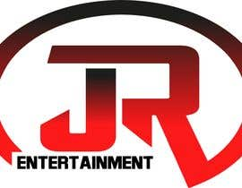 #2 untuk I will like a logo similar to the one in the image. With the name JR Entertainment with red and black colors. Different fonts but that kinda format. Thank you oleh ammarayounas786