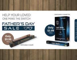 Nro 79 kilpailuun Father's Day Sale Banner käyttäjältä petersamajay