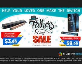 Nro 19 kilpailuun Father's Day Sale Banner käyttäjältä AadiBhakhiya