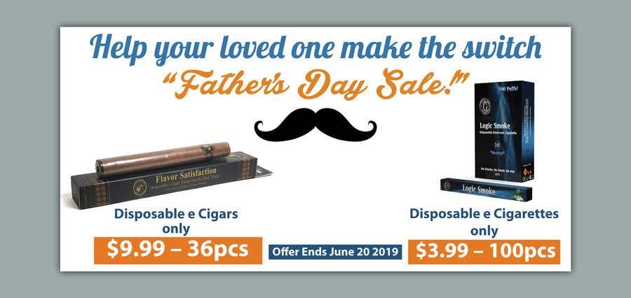 Kilpailutyö #66 kilpailussa Father's Day Sale Banner