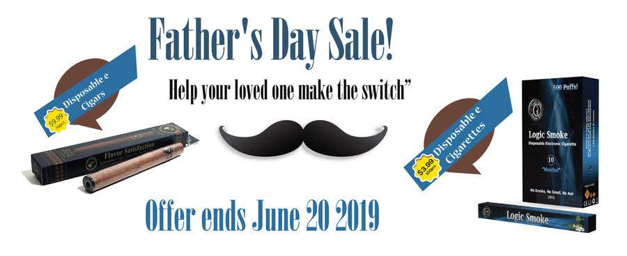 Kilpailutyö #55 kilpailussa Father's Day Sale Banner