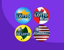 #41 for Lotto icon design needed af mdselimmiah