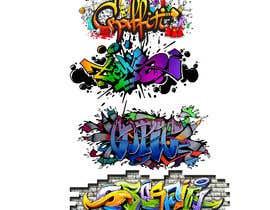 #50 untuk Graffiti designs for clothing oleh deezzee1