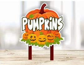 #43 for Sign for Pumpkin stand by ConceptGRAPHIC