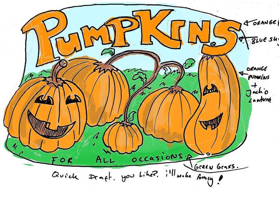 Konkurrenceindlæg #49 for Sign for Pumpkin stand