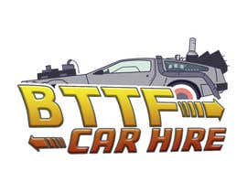 #5 for Logo required for Back to the future delorean car hire company af iisayedkk