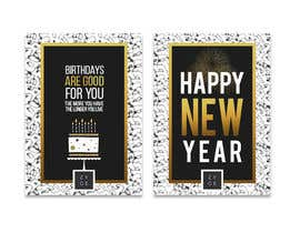#80 for Corporate Birthday card & Happy  New Year by WinningChamp