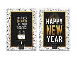 #80 untuk Corporate Birthday card & Happy  New Year oleh WinningChamp