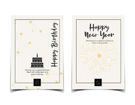 #123 for Corporate Birthday card & Happy  New Year by aishajawed