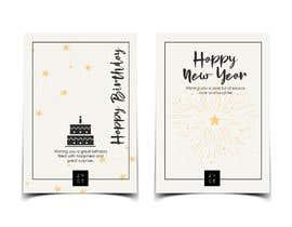 #123 untuk Corporate Birthday card & Happy  New Year oleh aishajawed