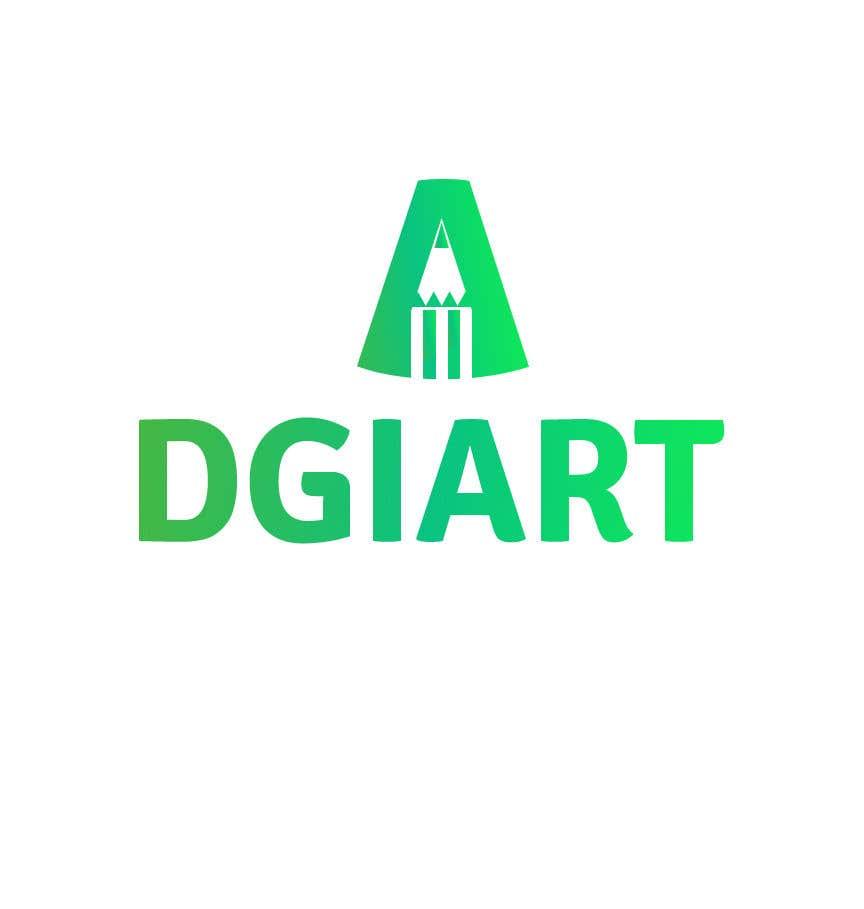 Penyertaan Peraduan #32 untuk Redesign -  current logo DGIART