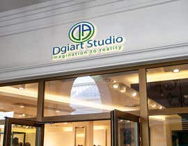 #49 для Redesign -  current logo DGIART от reamantutus4you