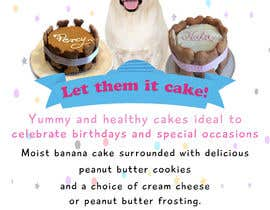 #84 for Cakes for dogs af Waseem6598