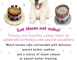 #85 for Cakes for dogs af Waseem6598