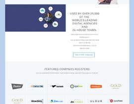 Nro 4 kilpailuun Website mokup design käyttäjältä hosnearasharif
