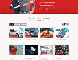 Nro 38 kilpailuun Website mokup design käyttäjältä itsmerenjith