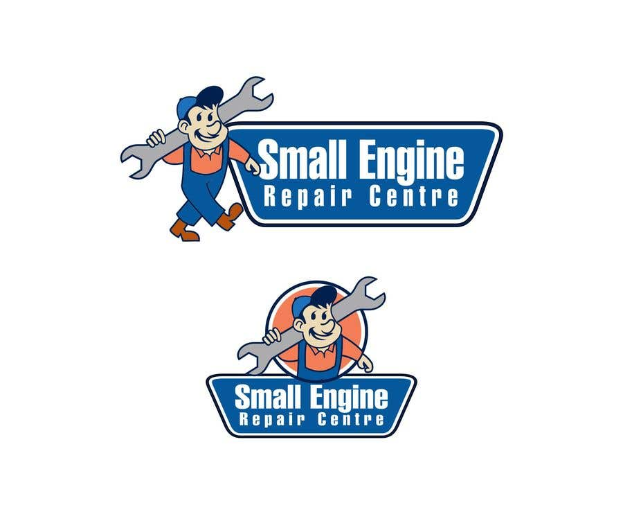 """Contest Entry #32 for Branding for a """"Small Engine Repair Centre"""""""