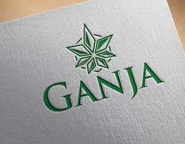 "#20 for Create a novel weed themed cover image: Draw/create a novel marijuana themed image, which incorporates the word ""Ganja"" by ffaysalfokir"