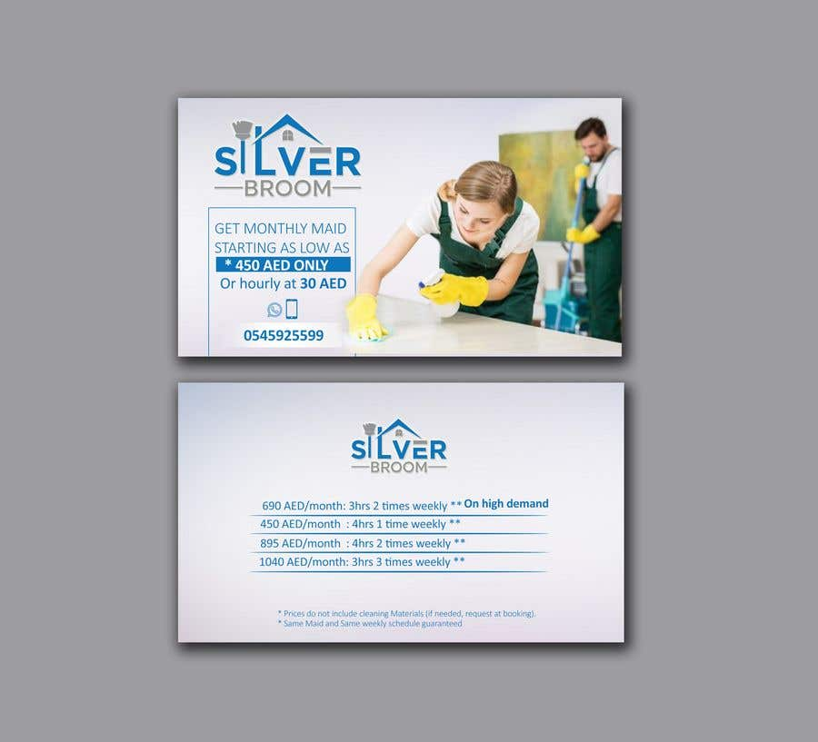 Proposition n°42 du concours Cleaning services - Flyer