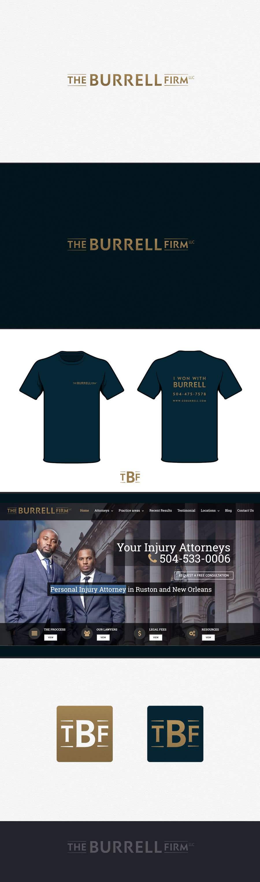 Bài tham dự cuộc thi #20 cho Brand Identity for Personal Injury (Car Wreck) Attorney