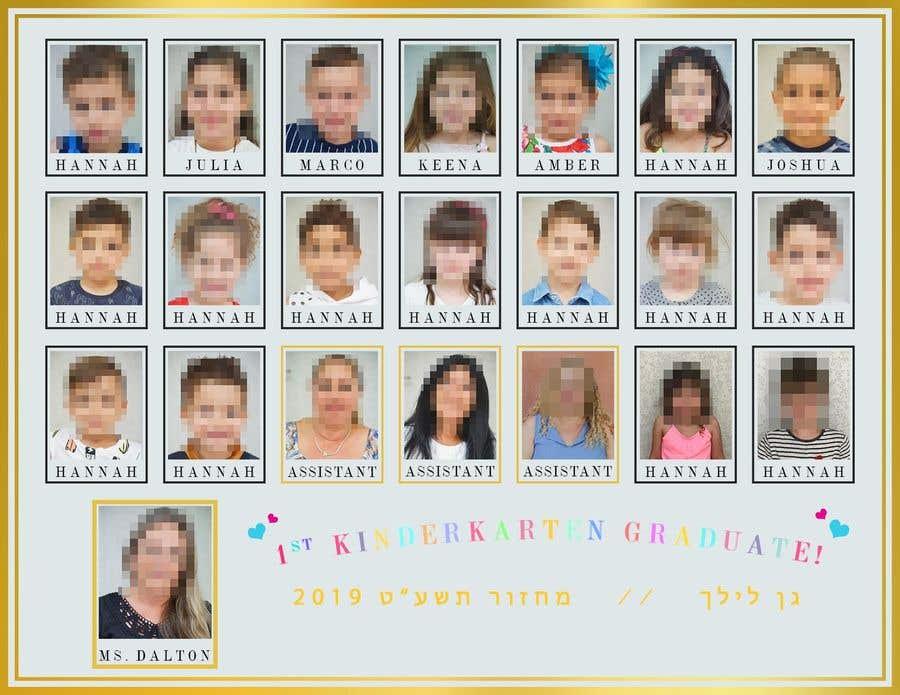 Kilpailutyö #62 kilpailussa Kindergarten end of year collage