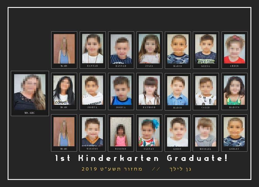 Kilpailutyö #39 kilpailussa Kindergarten end of year collage