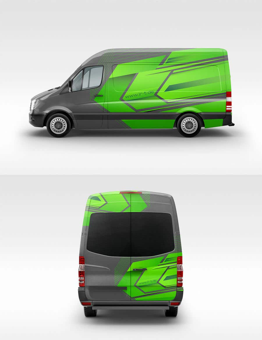 Contest Entry #49 for Vehicle Wrapping design for Transporter