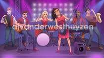 Bài tham dự #33 về Illustrator cho cuộc thi Draw me a picture of a generic band