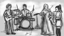 Bài tham dự #14 về Illustrator cho cuộc thi Draw me a picture of a generic band