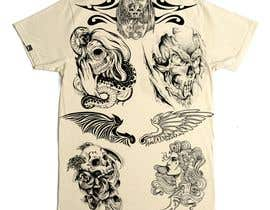 #18 for Tattoo T-shirt for men by AndreaNavarro052