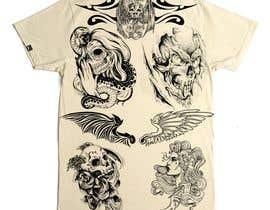 nº 18 pour Tattoo T-shirt for men par AndreaNavarro052