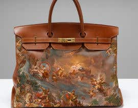 #2 untuk 3D model Hermès Birkin Bag with painting. oleh runningmoon