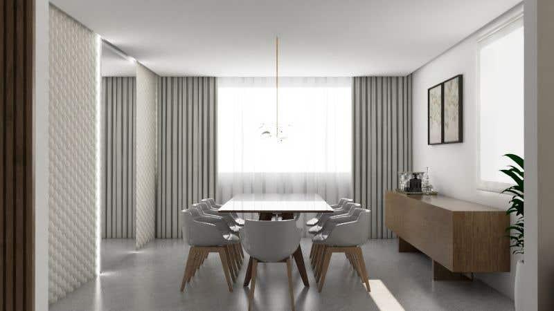Inscrição nº 22 do Concurso para Furniture Layour for Livin and Dining Room in a flat
