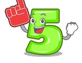 Nro 16 kilpailuun Create a Question Mark cartoon character käyttäjältä wwwmukul