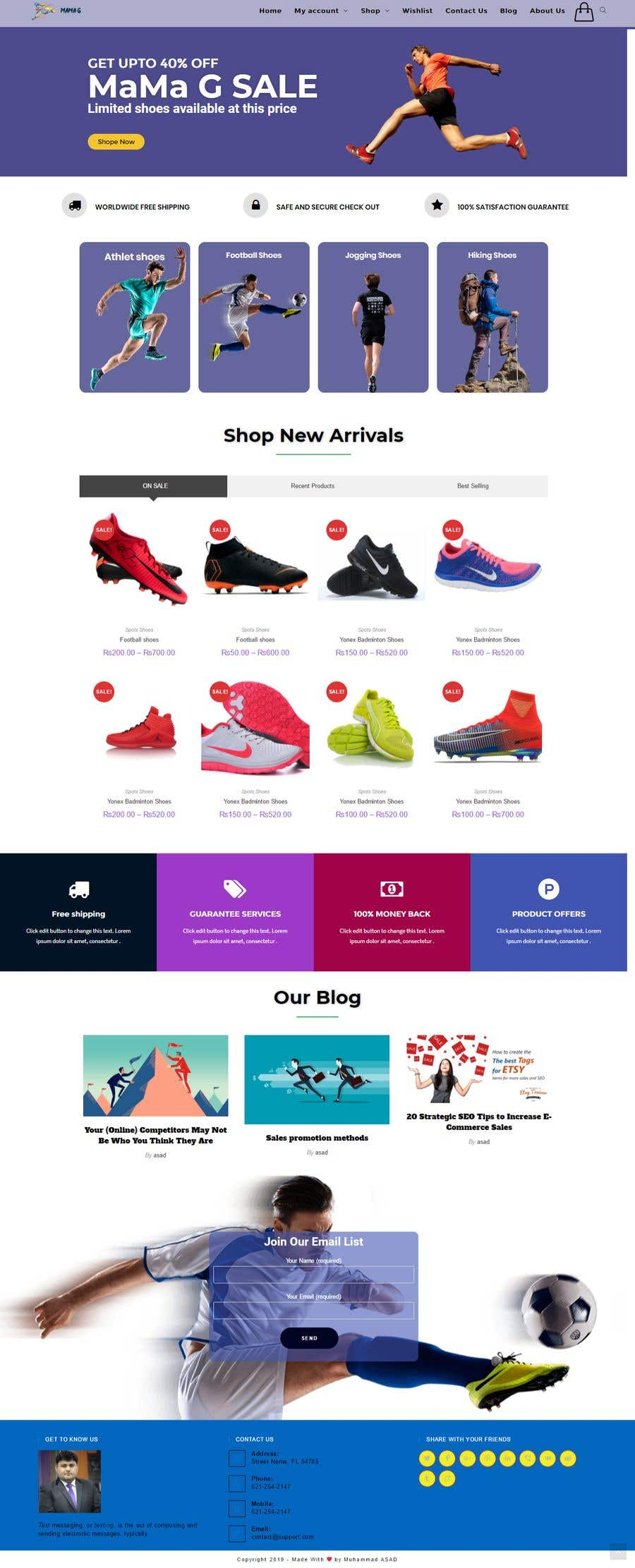 Contest Entry #27 for Simply recommend a shopify theme that will best suit our business
