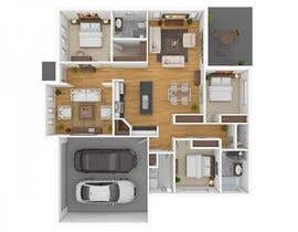 #1 para Living room, dining area, 2 bedrooms, study por na4028070