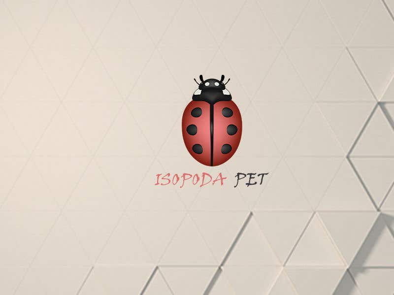 Contest Entry #26 for Logo Design For Bug Company Isopoda Pet