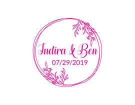 #42 para Wedding Logo por carolingaber