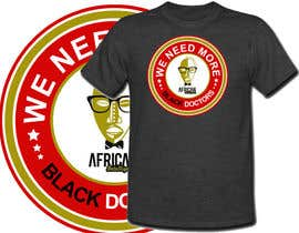 #38 para T-shirt Design for African Intelligence por venug381