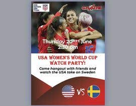 #18 para URGENT Need Flyer Created for World Cup viewing Party por Swapon353