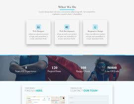 #60 для Landingpage for webdesign agency от Mejba2004