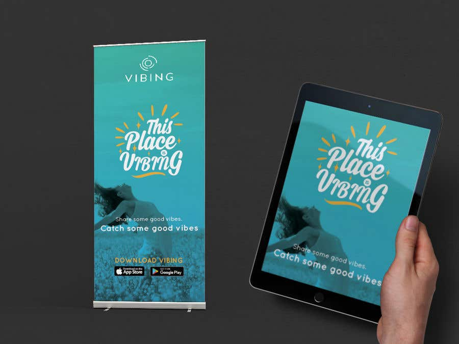 Contest Entry #14 for Design a pull-up banner for a promotional event
