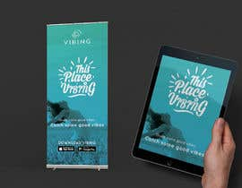 #32 untuk Design a pull-up banner for a promotional event oleh adarshdk