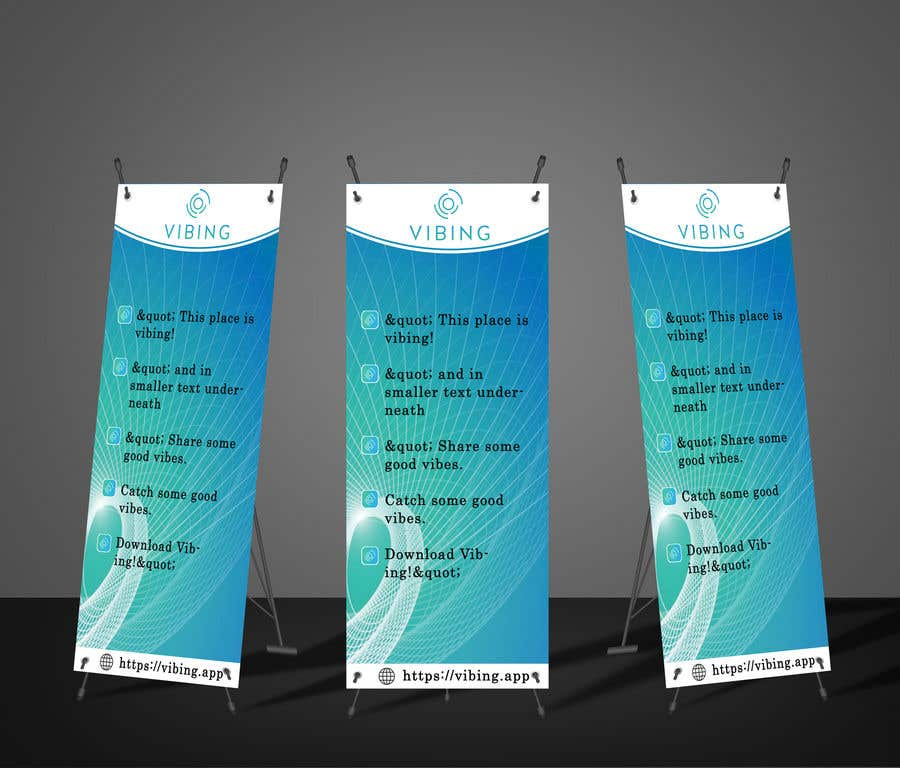 Contest Entry #104 for Design a pull-up banner for a promotional event